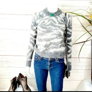 All Saints Tiger jumper super soft mohair blend